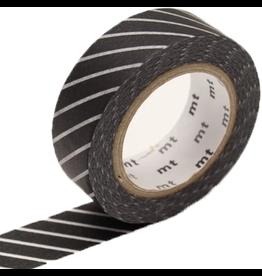 MT  MT washi tape stripe black