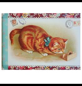 Gwenaëlle Trolez Créations Geïllustreerd petit notebook Chats