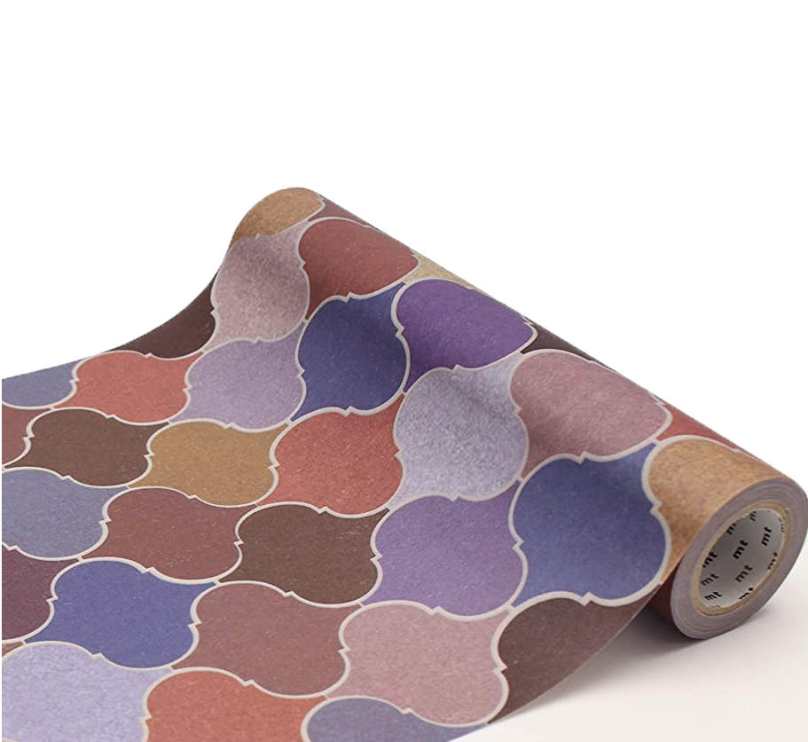 MT casa washi fleece Tile brick