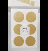 MT casa washi Seal gold dots