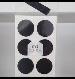 MT  MT casa washi Seal black dots