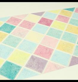 MT  MT casa washi remake sheet Colorful tile