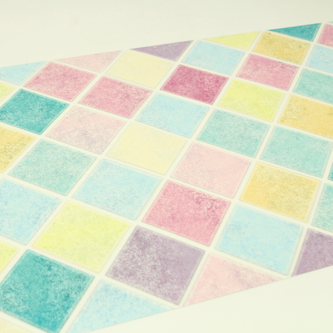 MT casa washi remake sheet Colorful tile