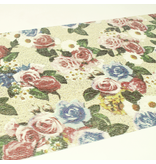 MT casa remake sheet Floral Cloth