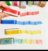 MT washi tape ART kleurkrijt 9 mm