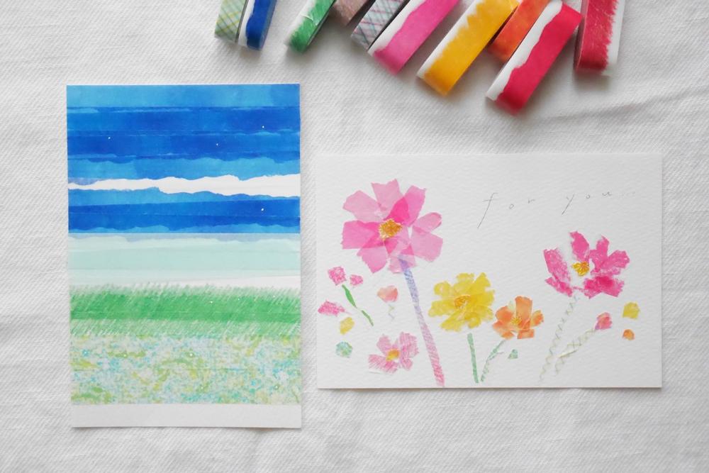 MT washi tape ART kleurpotloden 15 mm