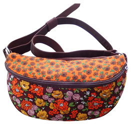 Huisteil creaties Cross body bag '80 Huisteil Millefleurs