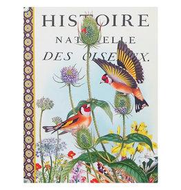 Gwenaëlle Trolez Créations Geïllustreerd notebook Oiseaux d'Europe