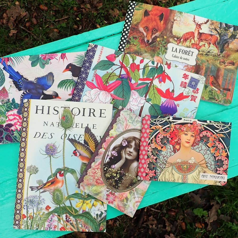 Geïllustreerd notebook La Forêt