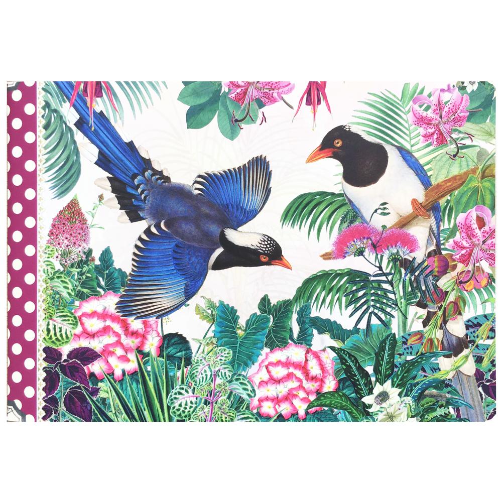 Geïllustreerd notebook Les Oiseaux