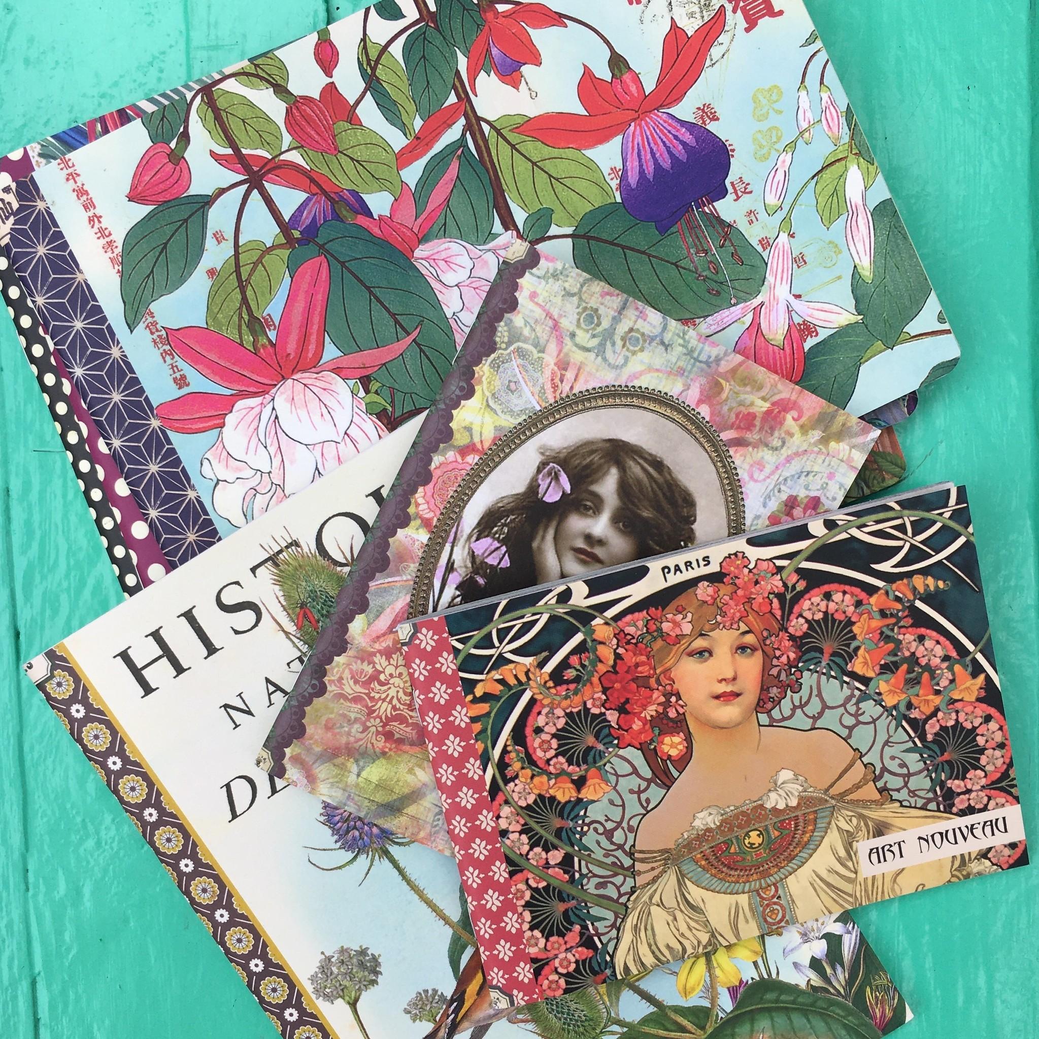 Geïllustreerd notebook Couture