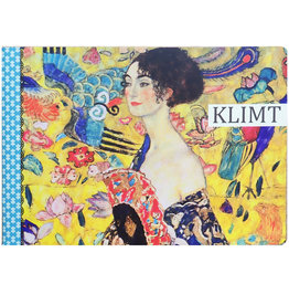 Gwenaëlle Trolez Créations Geïllustreerd notebook Gustav Klimt