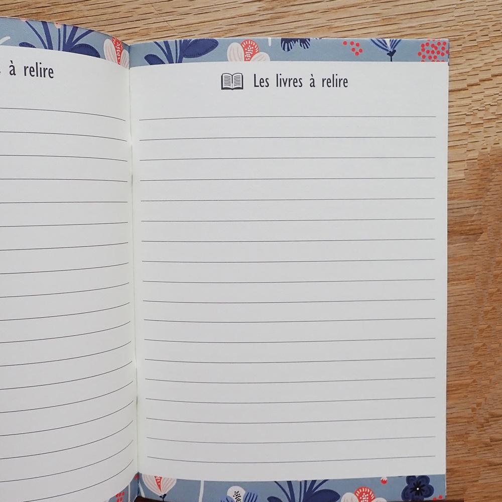 Geïllustreerd notebook Mes lectures