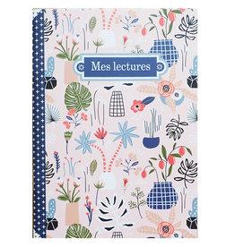 Gwenaëlle Trolez Créations Geïllustreerd notebook Mes lectures