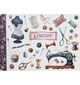 Gwenaëlle Trolez Créations Geïllustreerd notebook Couture