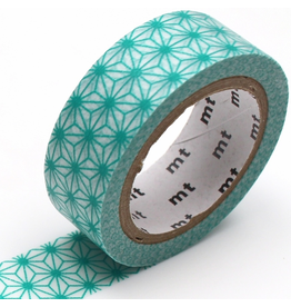 MT  MT washi tape deco Asanoha hisui