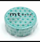 MT washi tape deco Asanoha hisui