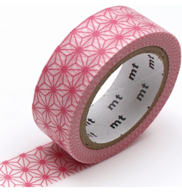 MT  MT washi tape deco Asanoha momo