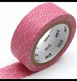 MT washi tape deco Seigaihamon momo