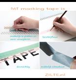 MT washi tape deco Seigaihamon wakamurasaki