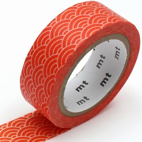 MT washi tape deco Seigaihamon akadaidai