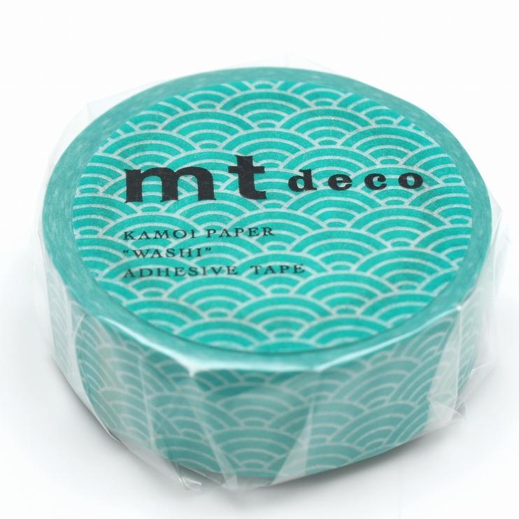 MT washi tape deco Seigaihamon hisui
