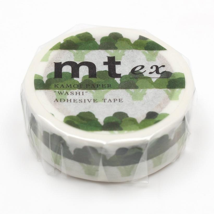 MT washi tape ex Broccoli