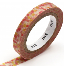 MT  MT washi tape slim Overlapping watercolors