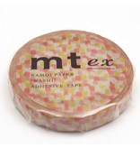 MT washi tape slim Overlapping watercolors