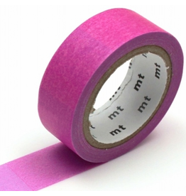 MT  MT washi tape deco Fluorescent pink x blue