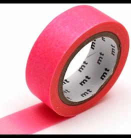 MT  MT washi tape deco Fluorescent pink x yellow