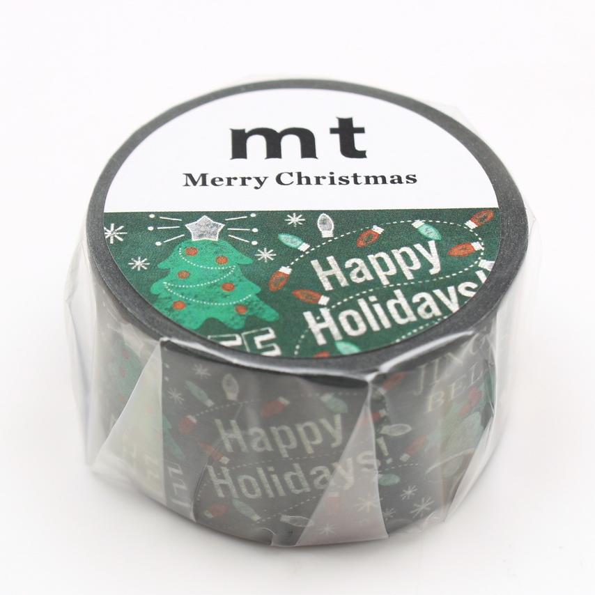 MT washi tape Blackboard Christmas