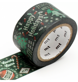 MT  MT washi tape Blackboard Christmas