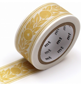 MT  MT washi tape William Morris Orange border