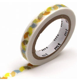 MT  MT washi tape slim Ginkgo line