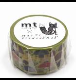 MT x Matti  Pikkujämsä washi tape Mushroom