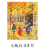 Kaart Oktober Elsa Beskow