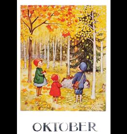Hjelm Förlag Kaart Oktober Elsa Beskow