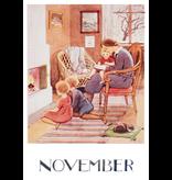 Kaart November Elsa Beskow