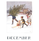 Kaart December Elsa Beskow