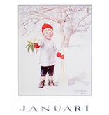Kaart Januari Elsa Beskow