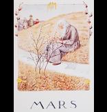 Kaart Mars (Maart) Elsa Beskow