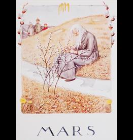 Hjelm Förlag Kaart Mars (Maart) Elsa Beskow