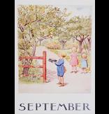 Kaart September van Elsa Beskow