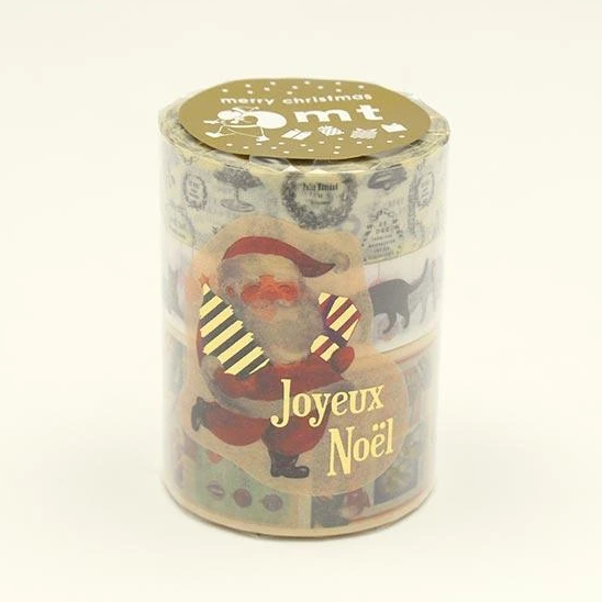 MT washi tape Kerstset 7