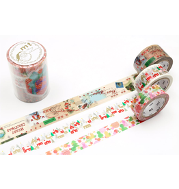 MT  MT washi tape Kerstset 8