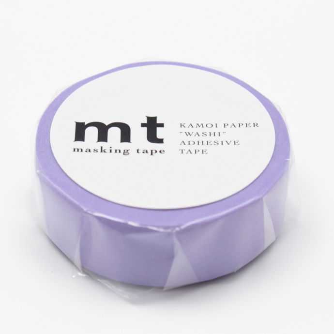 MT washi tape lavender