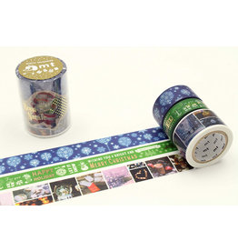 MT  MT washi tape Kerstset 9