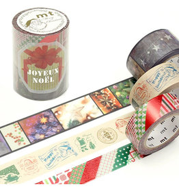 MT  MT washi tape Kerstset 10