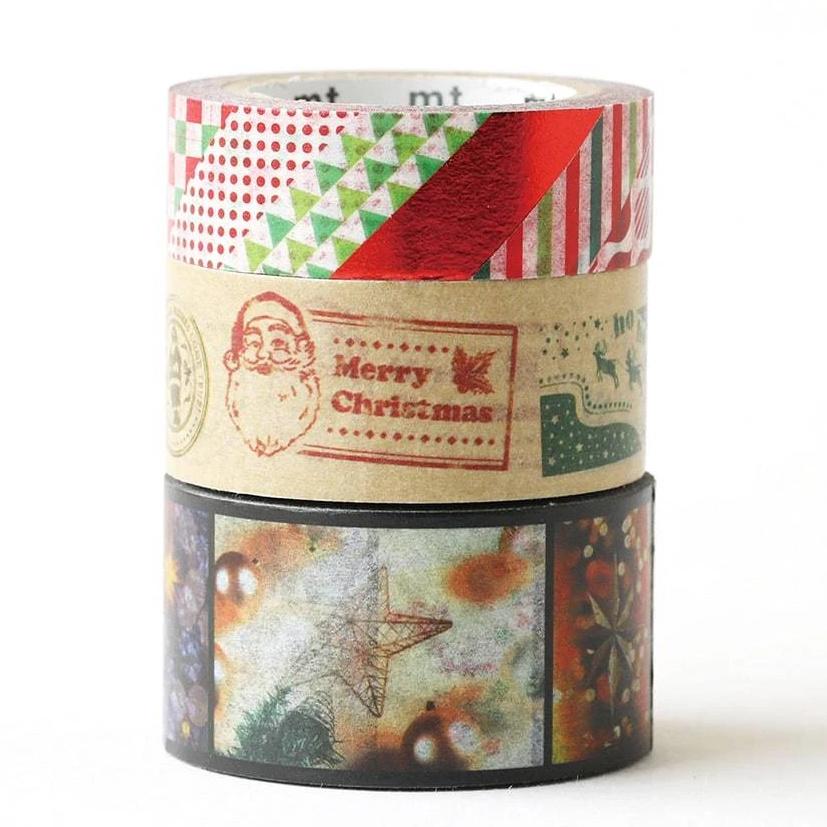 MT washi tape Kerstset 10